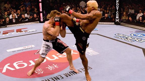 Franca vs Sherk fight UFC pic