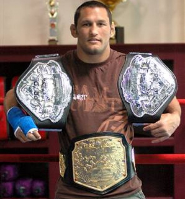 Dan Henderson Belts