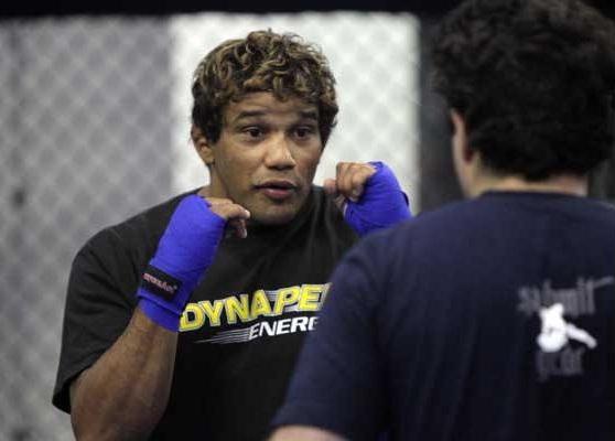 Hermes Franca training UFC pic