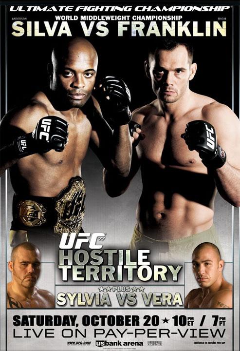 UFC 77 Poster UFC Pic