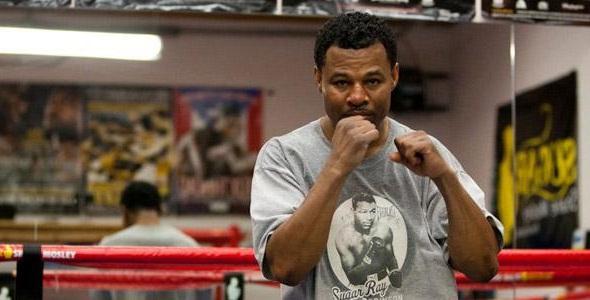 Shane Mosley boxing training Rampage Jackson
