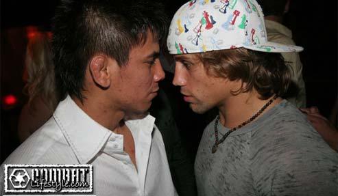 Torres vs Faber staredown