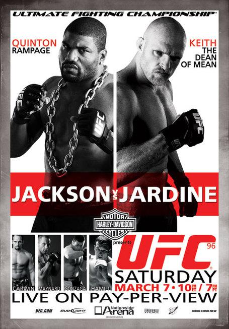 UFC 96 Poster