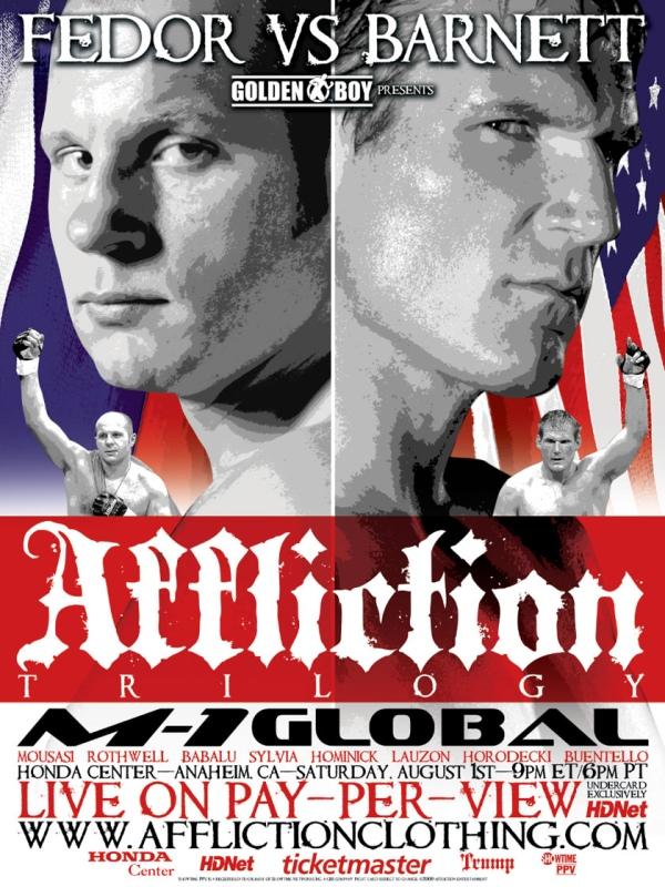 Affliction Trilogy Poster
