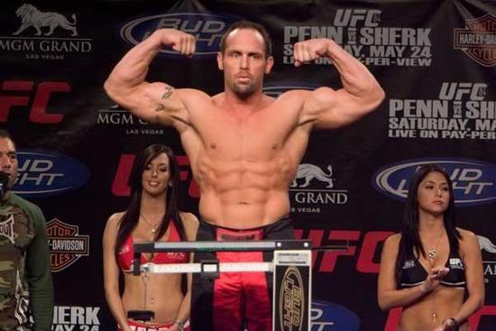 Shane Carwin- weigh in