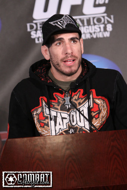 Florian at UFC 101