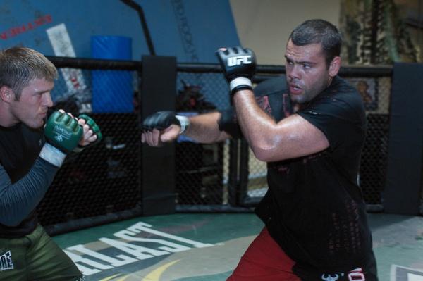 Gabriel Gonzaga UFC 102 training 2