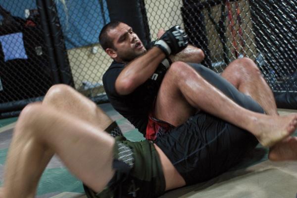 Gabriel Gonzaga UFC 102 training 3