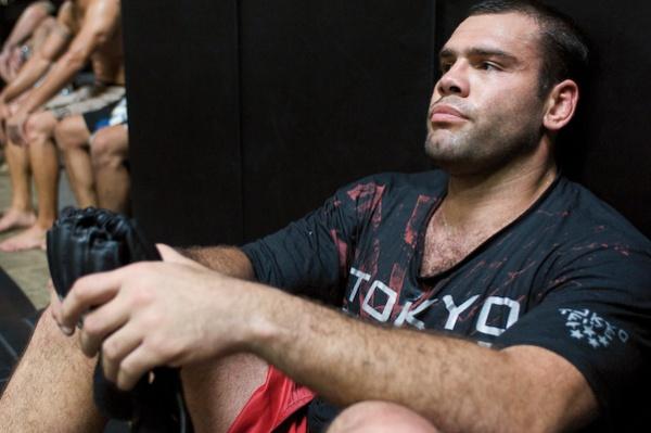 Gabriel Gonzaga UFC 102 training 4