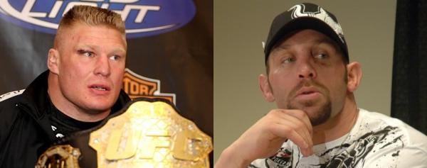 Lesnar vs Carwin