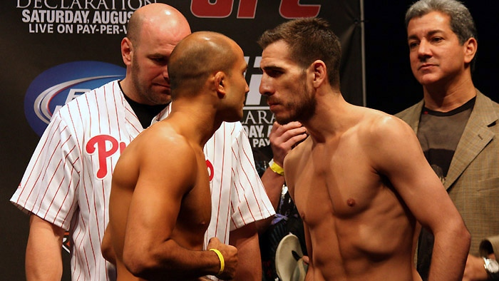 Penn and Florian weigh in at UFC 101