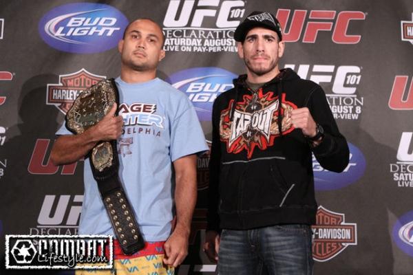 Penn vs Florian at UFC 101