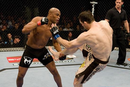 Silva punches Griffin