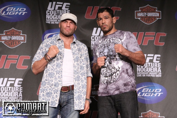 UFC 102 Couture vs Nogueira 2