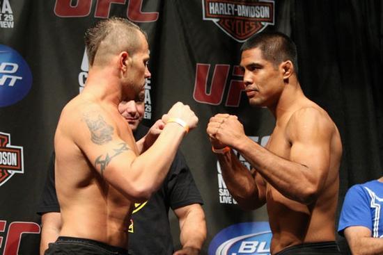 UFC 102 weigh-ins 10