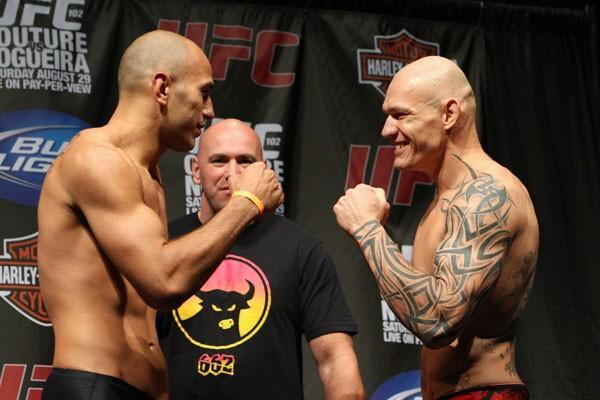 UFC 102 weigh-ins 4