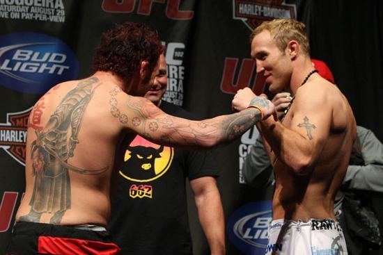 UFC 102 weigh-ins 5