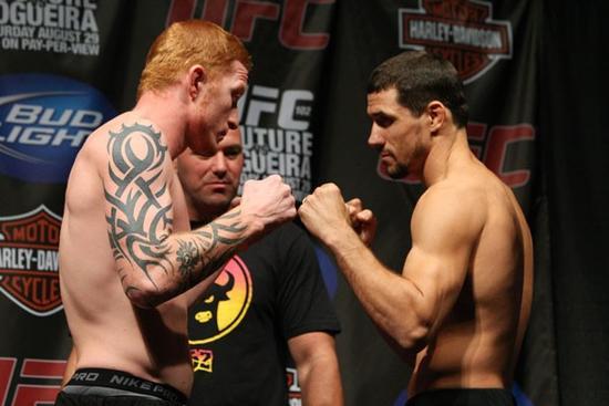 UFC 102 weigh-ins 6