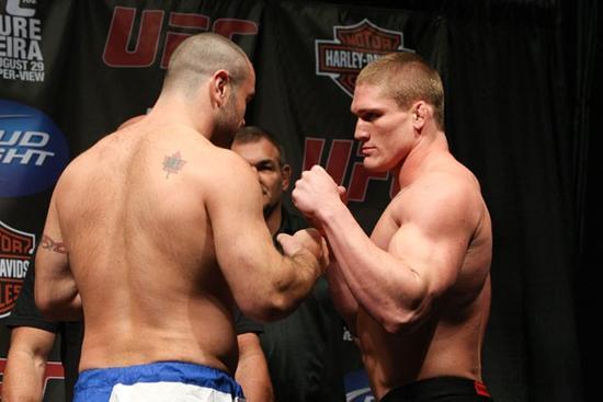 UFC 102 weigh-ins 9