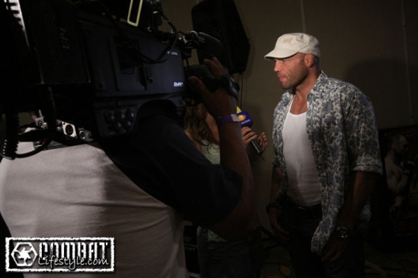 UFC 102 Couture Camera