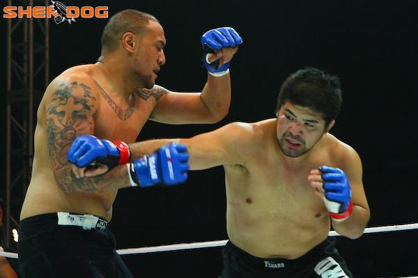 Antz Nansen vs Hiroshi Izumi 1