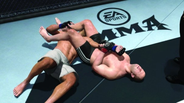 EA Sports MMA Video Game Pic