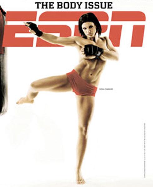 Gina Carano- espn body issue 2