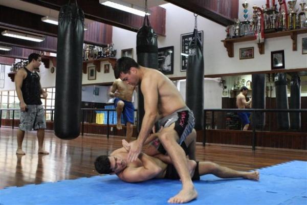 UFC 104 Machida training 10
