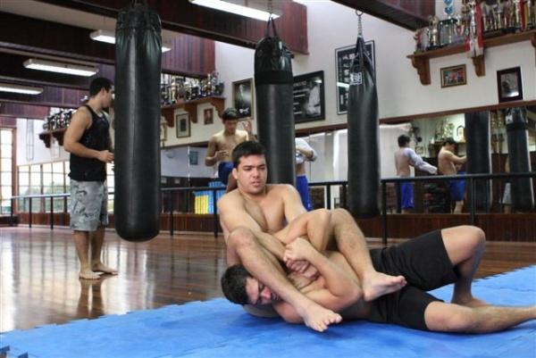 UFC 104 Machida training 11