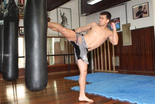 UFC 104 Machida training 13