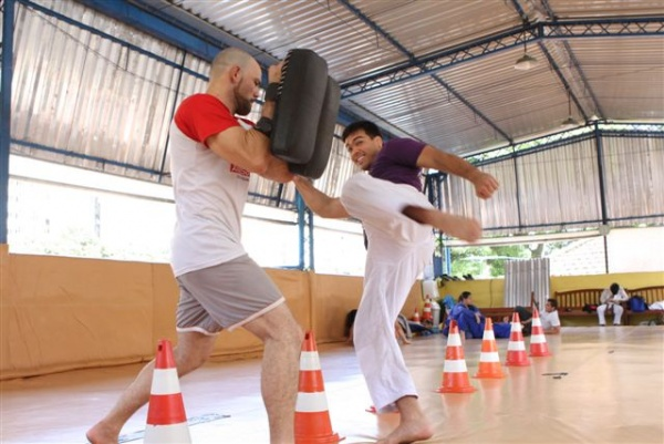 UFC 104 Machida training 2