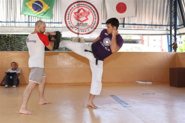 UFC 104 Machida training 3