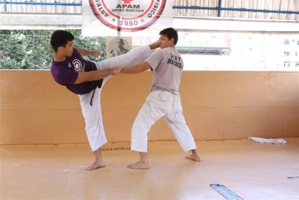 UFC 104 Machida training 5