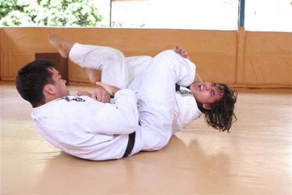 UFC 104 Machida training 6