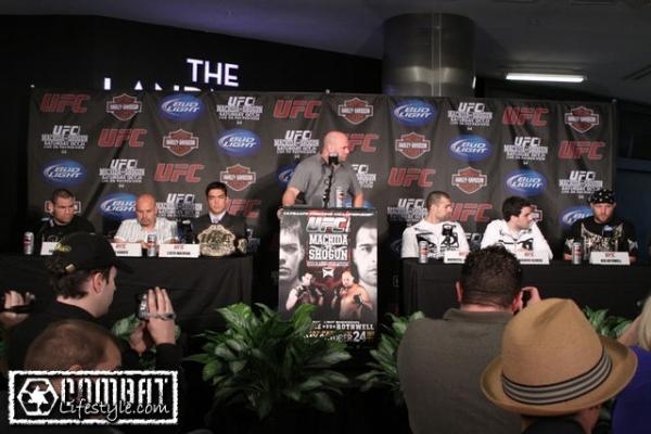 UFC 104 Press Conference 7