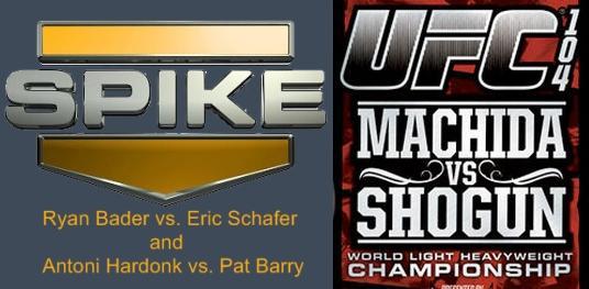 UFC 104 on Spike