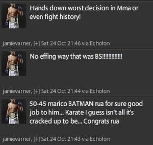 UFC 104 twitters 2