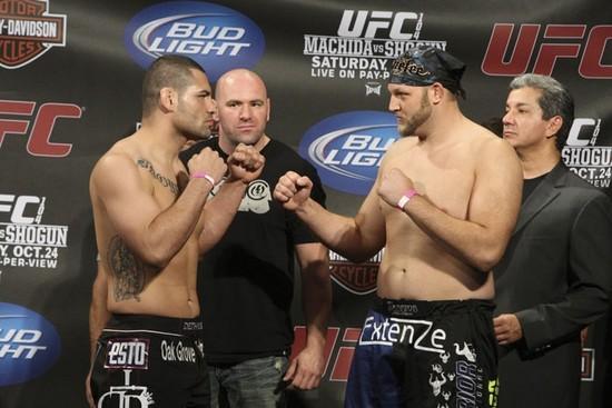 UFC 104 weigh-in 4