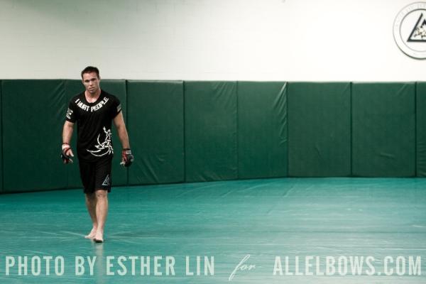 Jake Shields Training for Mayhem 1