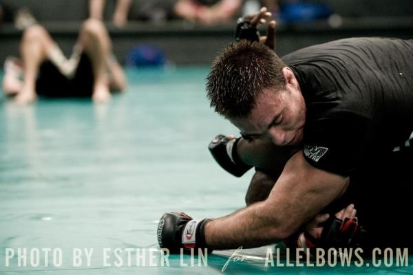 Jake Shields Training for Mayhem 7