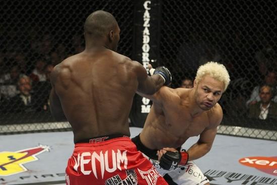 Koscheck punches Johnson
