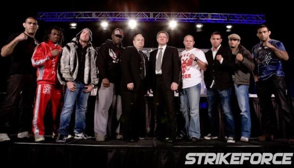 Strikeforce Fedor vs Rogers 1