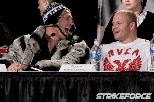 Strikeforce Fedor vs Rogers 14