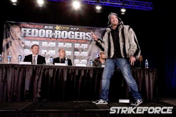 Strikeforce Fedor vs Rogers 9