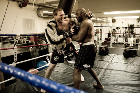 Strikeforce Nov 7 workout 2