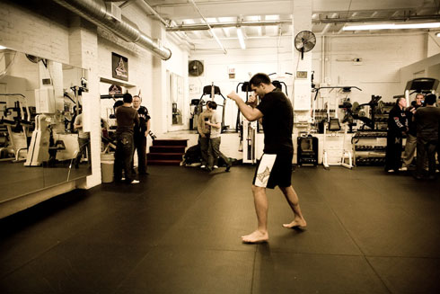 Strikeforce Nov 7 workout 5