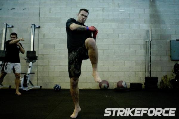 Strikeforce Nov 7 workout 6