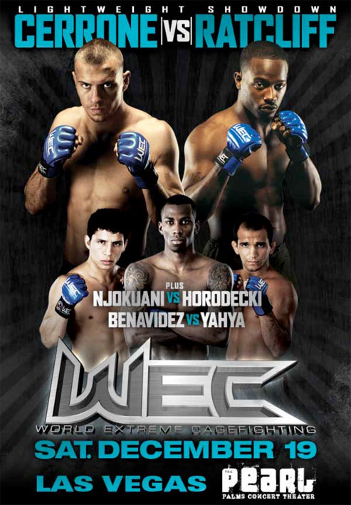 WEC 45 poster pic