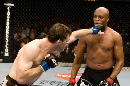Griffin misses Silva punch