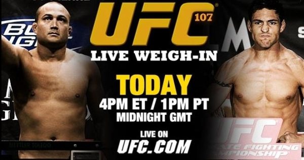 Penn vs Sanchez weigh in